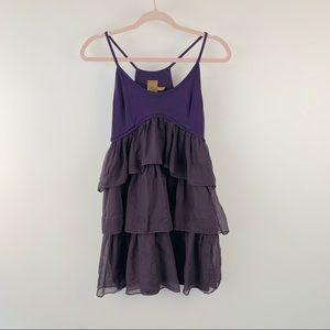 [Ali Ro] Anthropologie Tiered Ruffle Dress